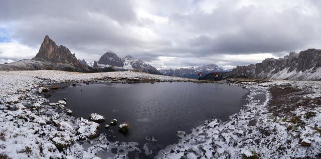 Giau Pass Panorama, Dolomites