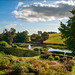 Gardens and mirror pond