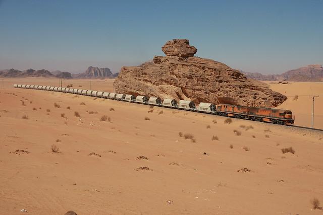 GE's at Wadi Rum