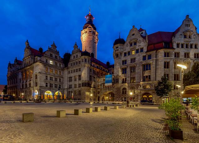 New Town Hall /  Rathaus / Leipzig