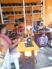 women busy tailoring