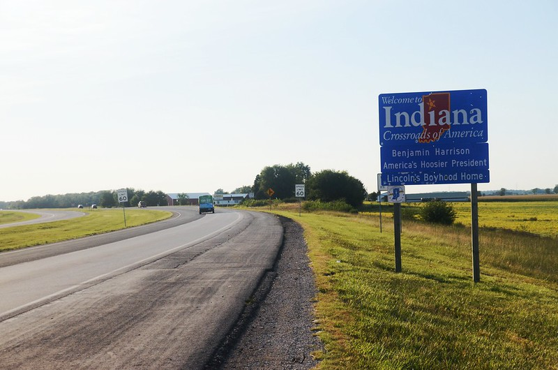 US 30 Indiana Welcome Sign (4)