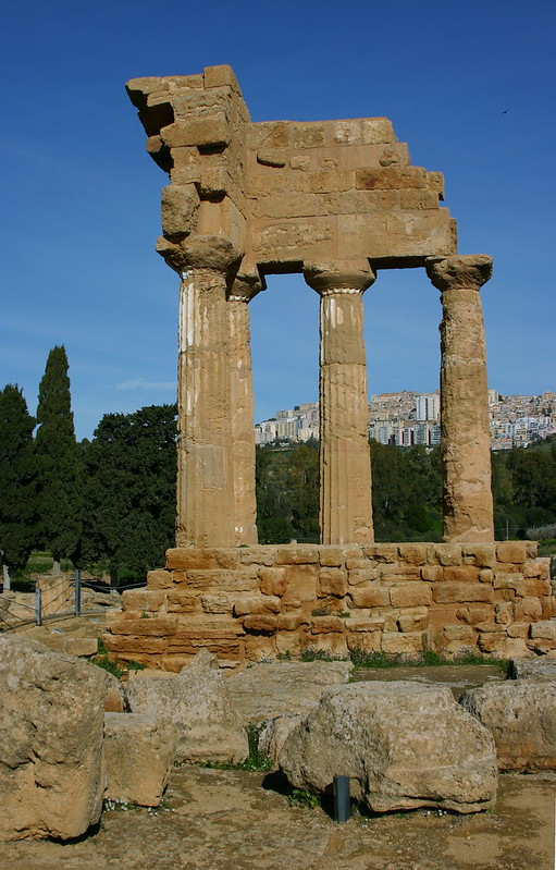 agrigento castor and pollux