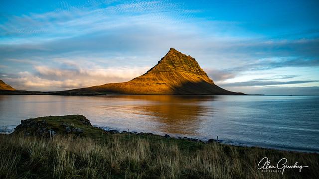 Kirkjufell Mountain in the morning light