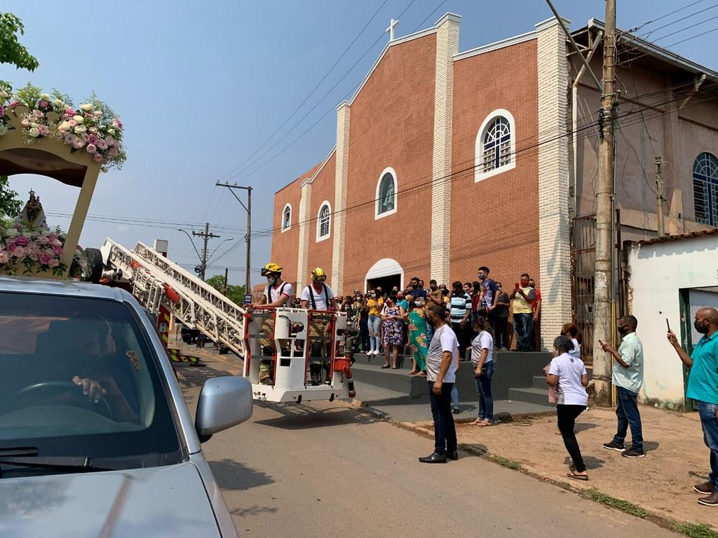 Festa de Nossa Senhora de Nazaré em Planaltina DF conta com a presença de Dom Paulo Cezar