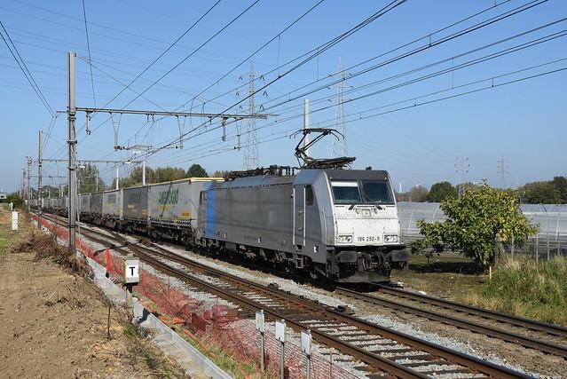 186 292-9 Crossrail + 60402, Bilzen, 09/10/2021