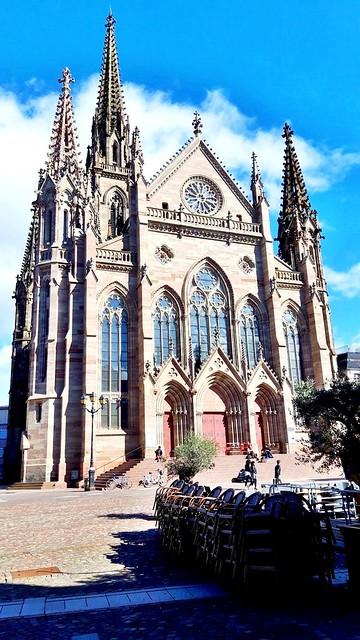 Le temple Saint-Etienne de Mulhouse