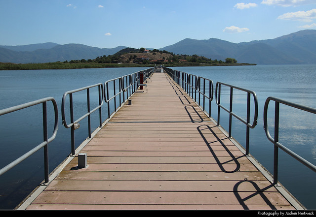 Agios Achillios Bridge, Prespes NP, Greece