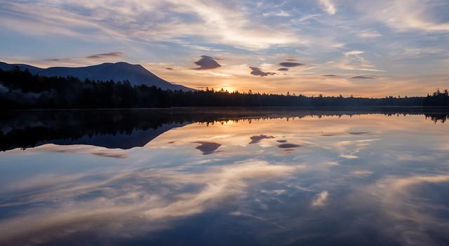Reflections on Kidney Pond