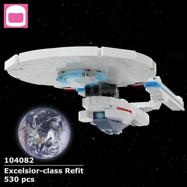 Excelsior-class Refit Box Art