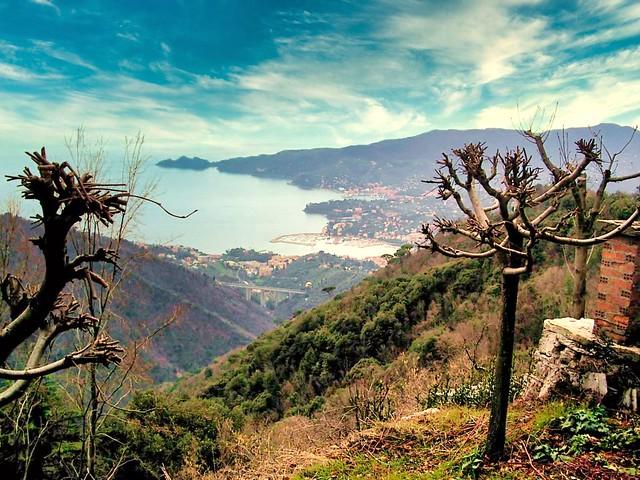 the Rapallo coastline