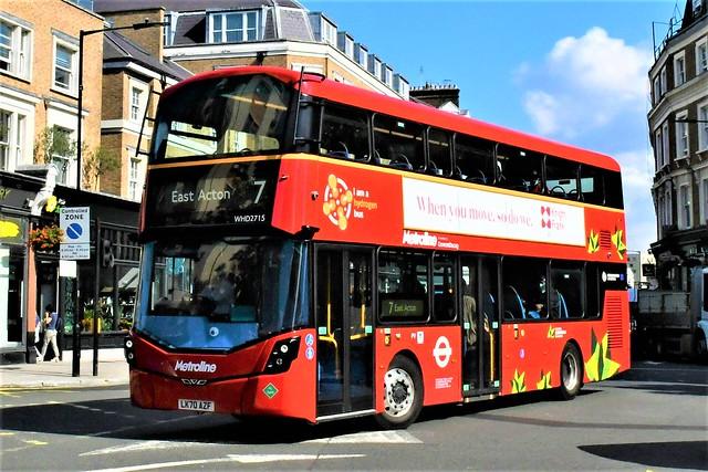 LK70 AZF (WHD2715) Metroline London