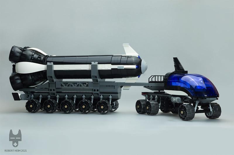 "Rocket Transport Rover ""ORCA"""