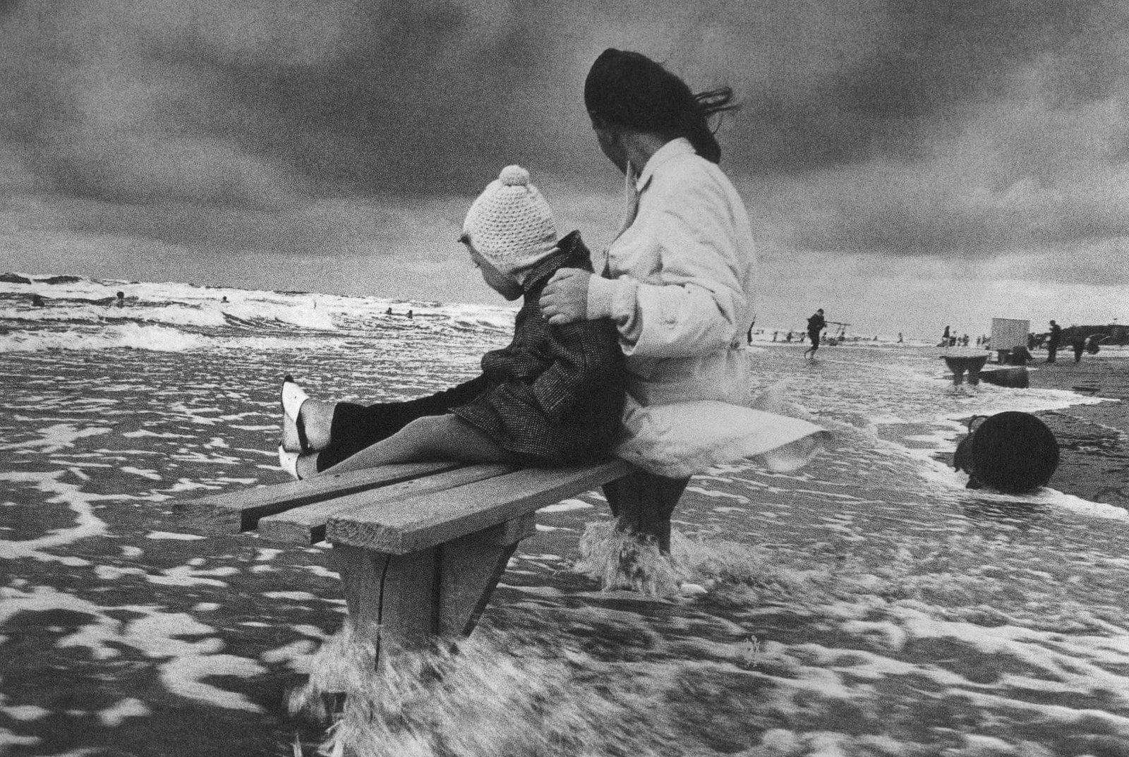 1972. У Балтийского моря, Гируляй