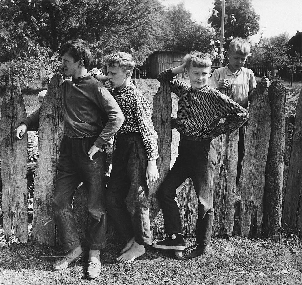 1971. Мальчики. Дзукия