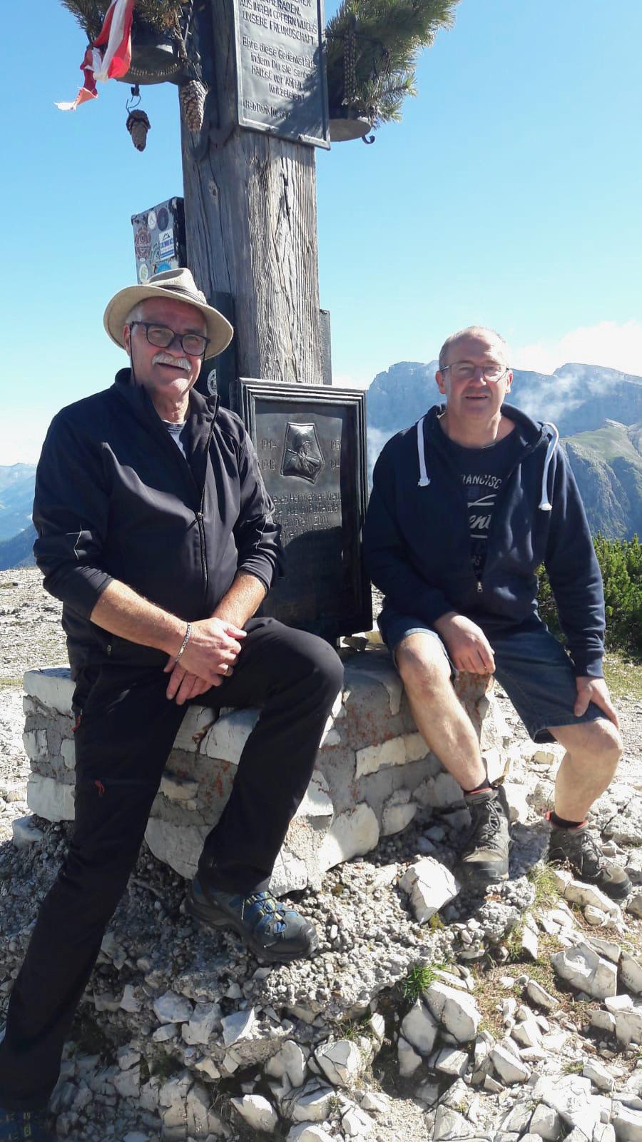 40 Jahre Heimkehrerkreuz am Strudelkopf, 04.09.2021