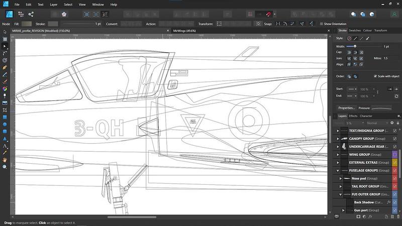 Reorganising vector drawing's layers so they make more sense.