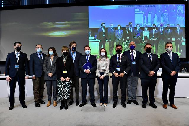 Declaración Conjunta de las comunidades autónomas y ciudades españolas sobre protección de las indicaciones geográficas industriales y artesanales en la Comisión Europea