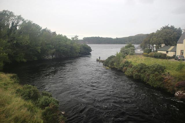The River Ewe, Poolewe