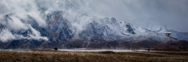 Misty Eastern Sierra Storm Break