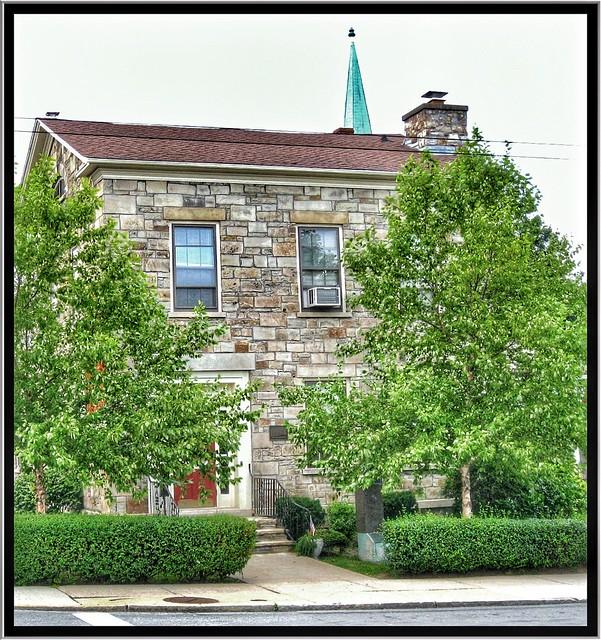 Lockport New York - United States -  Bacon Merchant House