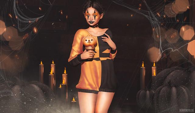 LOTD #452 'Pumpkin Vs Clown'