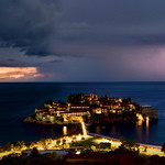 11. Oktoober 2021 - 11:36 - I was lucky enough to catch this shot at Sveti Stefan in Budva, Montenegro.