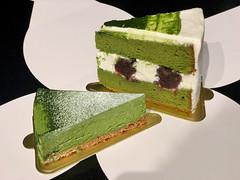 Matcha cakes from Tsujiri