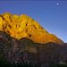 Moon over Ollantaytambo /2
