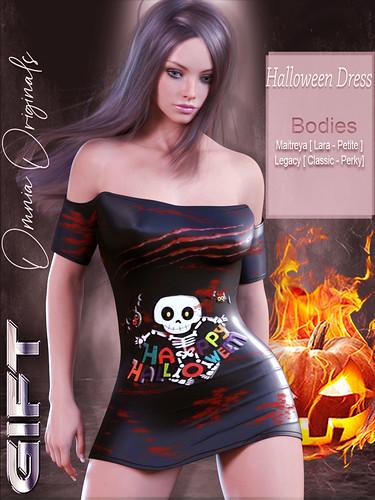 Omnia -Halloween Dress,Group Gift