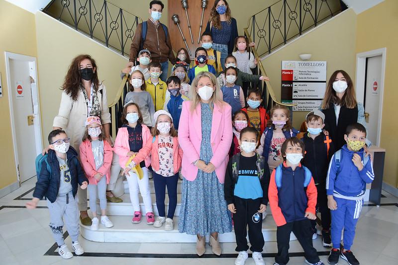 Visita alumnos CEIP San Isidro