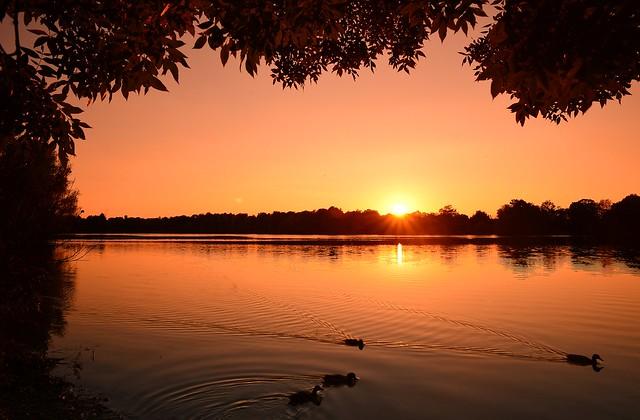 Munich - Peaceful Sunset
