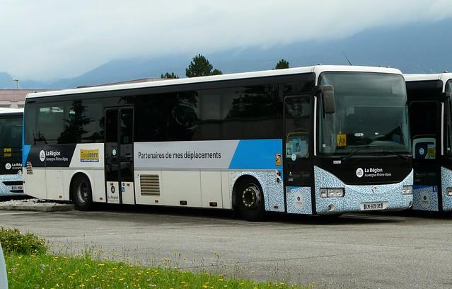 Irisbus Crossway-Keolis Train Bleu