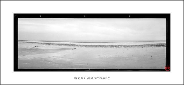 Pinhole 6x17: The beach of Bray-Dunes
