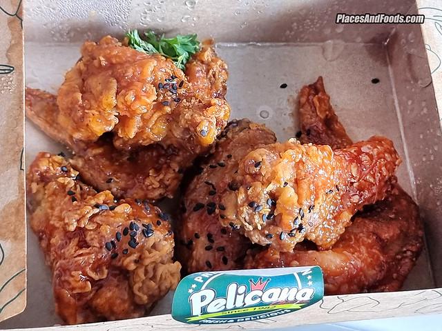 pelicana kinrara korean fried chicken