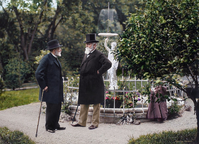 Rudolf Virchow and August Hirsch | Рудольф Вирхов и Август Хирш