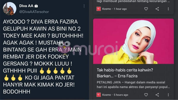 """Mustahil Bintang Segah Erra Fazira Main Rembat Je"" – Diva Aa"