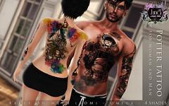 Potter tattoo Unisex