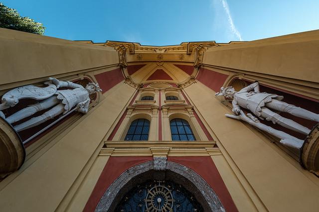 Strassen von Innsbruck, Stiftskirche Wilten