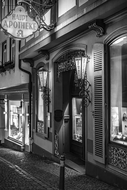 The old main pharmacy Wetzlar