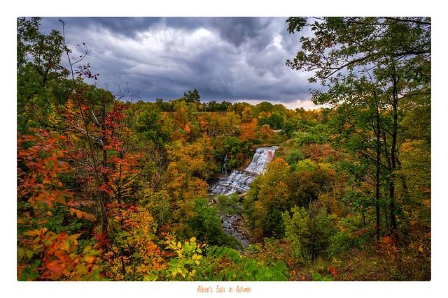Albion's Falls in Autumn