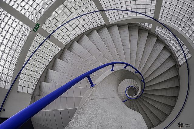 The blue ramp