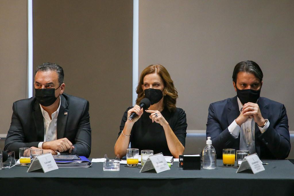 Reunião conjunta do Governo de São Paulo e a Prefeitura da Cidade de São Paulo