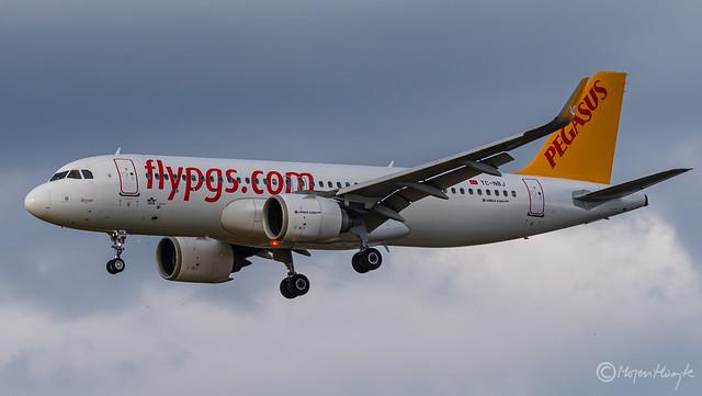 Pegasus, Airbus A320-251N, TC-NBJ, 7703, Reyyan, October 13, 2021