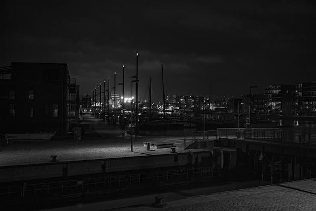 Blick auf den Neuen Hafen