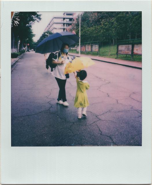 she likes her umbrella