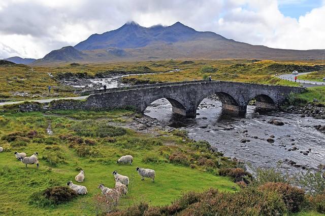 Old bridge at Sligachan, Sligachan Glen, Skye