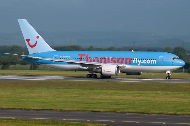 G-BYAB Thomson Airways - Boeing 767-204(ER)
