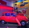 • 60 ans de la 4L • 4L Savane · Sapeurs-pompiers (1991) . #renault4l #voiture #car #parischampselysees #paris @atelierrenault #atelierrenault #backintime #renault #exposition #pompier #sapeurpompier #4lsavane