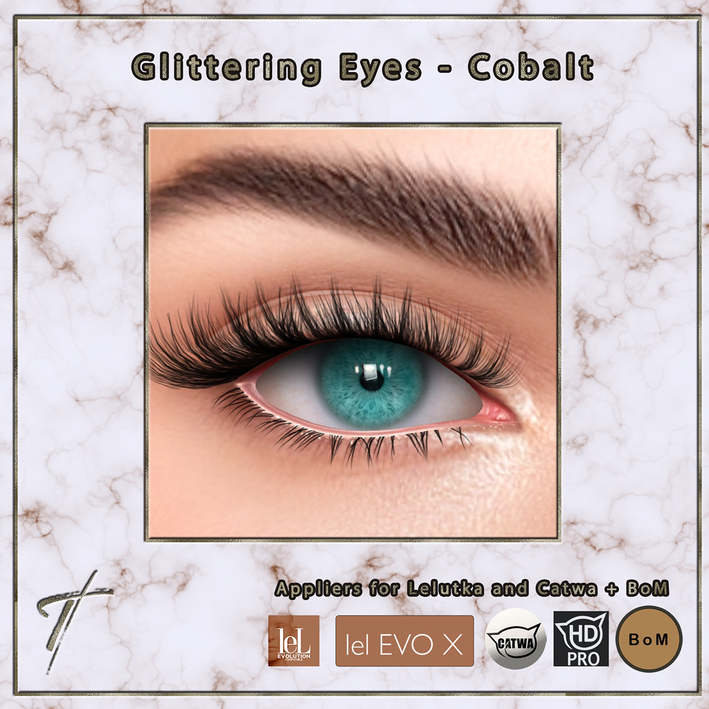 Tville – Glittering Eyes (Cobalt)  – NOW AVAILABLE IN OUR STORE!